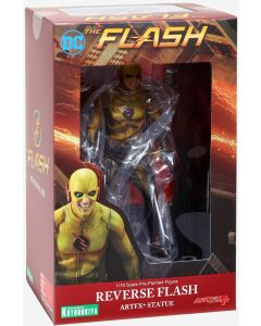 DC COMICS THE FLASH (TV SERIES) REVERSE FLASH ARTFX+ STATUE