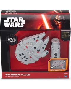 STAR WARS MILLENNIUM FALCON WITH REMOTE CONTROL