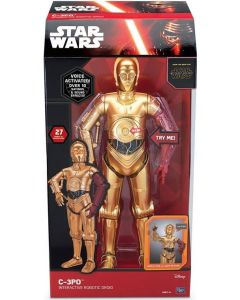 STAR WARS C-3PO INTERACTIVE ROBOTIC DROID 17""