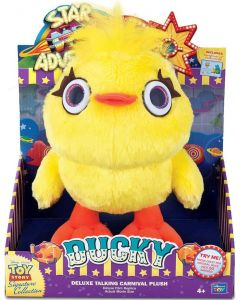 TOY STORY SIGNATURE COLLECTION DUCKY Deluxe Talking Carnival Plush