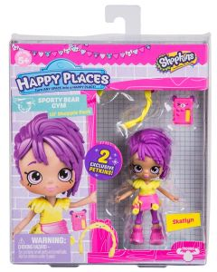 HAPPY PLACES S3 W2 DOLL SINGLE PACK SKATLYN