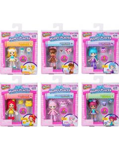 HAPPY PLACES S2 DOLL SINGLE PACKS SET OF 6