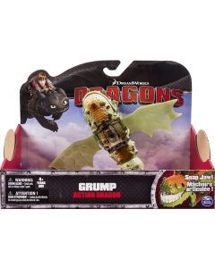 DREAMWORKS DRAGONS GRUMP ACTION DRAGON