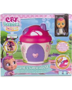 CRY BABIES MAGIC TEARS KATIE'S SUPER HOUSE PLAYSET