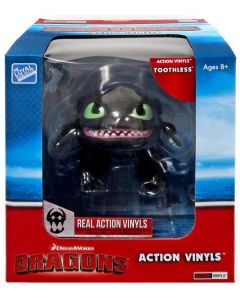 "HTTYD DRAGONS W2 ACTION VINYLS 7"" TOOTHLESS"