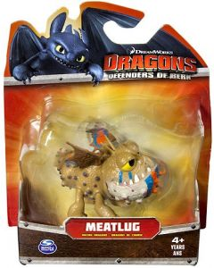 DRAGONS DEFENDERS OF BERK MINI RACING DRAGON MEATLUG