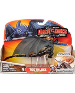 DRAGONS DEFENDERS OF BERK ACTION FIGURE TOOTHLESS (Lunge Attack 2014)