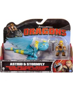 DREAMWORKS DRAGONS DRAGON RIDERS 2-PACK ASTRID & STORMFLY