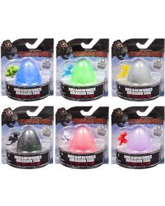 DREAMWORKS DRAGONS DRAGON EGGS (COMPLETE SET OF 6)