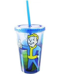 FALLOUT CARNIVAL CUP FEAT. VAULT BOY & VAULT DOOR ICE CUBES
