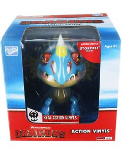 "HTTYD DRAGONS W2 ACTION VINYLS 7"" STORMFLY (SNOW)"