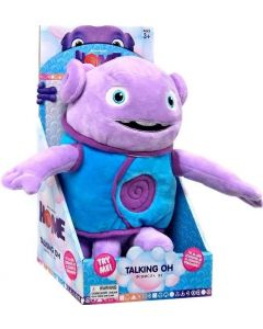 "DREAMWORKS HOME 10"" TALKING PLUSH OH"
