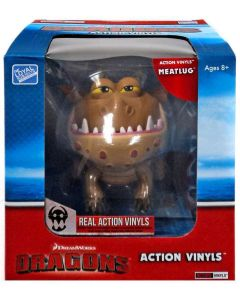 "HTTYD DRAGONS W2 ACTION VINYLS 7"" MEATLUG"