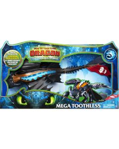 HOW TO TRAIN YOUR DRAGON MEGA TOOTHLESS