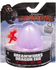 DREAMWORKS DRAGONS DRAGON EGG PURPLE