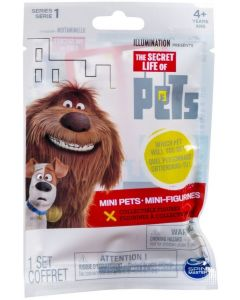 SECRET LIFE OF PETS S2 COLLECTIBLE MINI PET FIGURE PACK