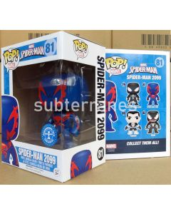 FUNKO POP! MARVEL: SPIDER-MAN VINYL BOBBLE-HEAD - Spider-Man 2099 (Underground Toys Exclusive)
