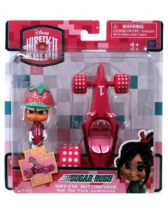 WRECK-IT RALPH SUGAR RUSH RACER & KART - Taffyta Muttonfudge