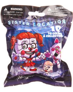 FIVE NIGHTS AT FREDDY'S SISTER LOCATION HANGERS