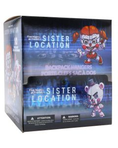 FIVE NIGHTS AT FREDDY'S SISTER LOCATION HANGERS PDQ CASE