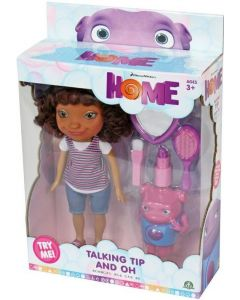 DREAMWORKS HOME Talking Tip Doll & Oh Deluxe Set