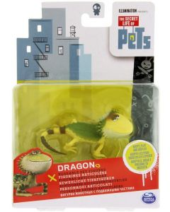 SECRET LIFE OF PETS POSEABLE PET FIGURE DRAGON