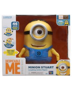 DESPICABLE ME MINION STUART - LAUGHING ACTION FIGURE
