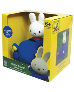 MIFFY SQUEAKY VEHICLE MIFFY & CAR
