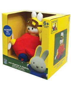 MIFFY SQUEAKY VEHICLE UNCLE PILOT & PLANE