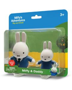 MIFFY 2-PACK BLISTER: DADDY & MIFFY