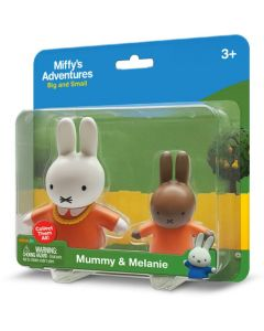 MIFFY 2-PACK BLISTER: MUMMY & MELANIE