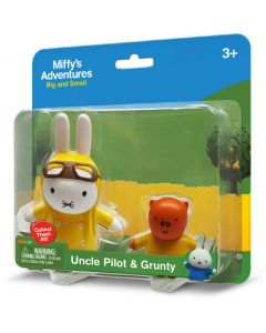MIFFY 2-PACK BLISTER: UNCLE PILOT & GRUNTY