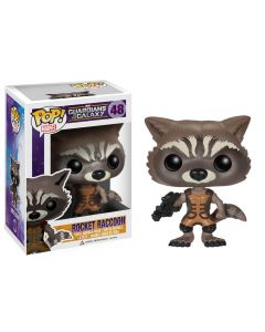 FUNKO POP! MARVEL GUARDIANS OF THE GALAXY VINYL BOBBLE-HEAD ROCKET RACOON