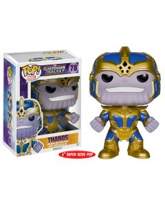 "FUNKO POP! MARVEL: GUARDIANS OF THE GALAXY VINYL BOBBLE-HEAD FIGURES (Wave 2) - Thanos 6"" Supersized"