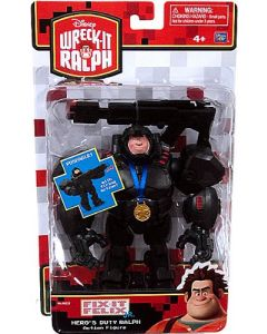 WRECK-IT RALPH DELUXE ACTION FIGURE HERO'S DUTY RALPH