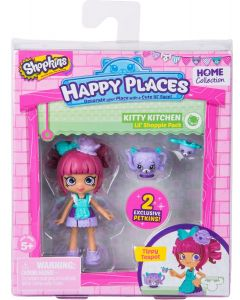 HAPPY PLACES S2 DOLL SINGLE PACK TIPPY TEAPOT