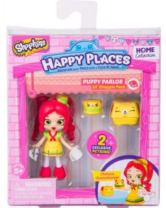 HAPPY PLACES S2 DOLL SINGLE PACK CHELSEA CHEESEBURGER