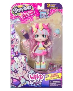SHOPKINS SHOPPIES S9 WILD STYLE SINGLE PACK W2 CANDY SWEETS