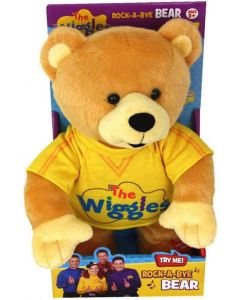 THE WIGGLES ROCK-A-BYE SINGING & DANCING BEAR 10""