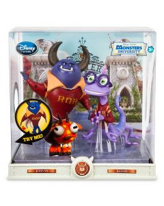 MONSTERS UNIVERSITY ACTION FIGURE SET Johnny & Randy