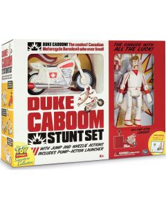 TOY STORY SIGNATURE COLLECTION DUKE CABOOM STUNT SET