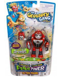 THE GROSSERY GANG S3 PUTRID POWER FIGURE VAC ATTACK