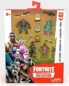 FORTNITE BATTLE ROYALE COLLECTION: SQUAD PACK (dire, calamity, dj yonder, giddy up)