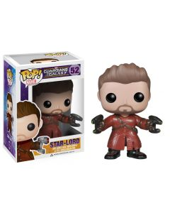 FUNKO POP! MARVEL GUARDIANS OF THE GALAXY VINYL BOBBLE-HEAD STAR-LORD UNMASKED