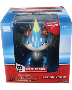 "HTTYD DRAGONS W2 ACTION VINYLS 7"" STORMFLY (RACING STRIPES)"