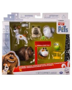 SECRET LIFE OF PETS PET FIGURES 6 PACK