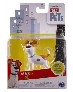 SECRET LIFE OF PETS POSEABLE PET FIGURE MAX