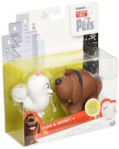 SECRET LIFE OF PETS VINYL PET FIGURES 2-PACK DUKE & GIDGET