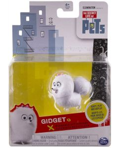 SECRET LIFE OF PETS POSEABLE PET FIGURE GIDGET