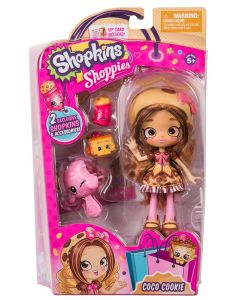 SHOPKINS SHOPPIES S4 SINGLE PACK W1 COCO COOKIE